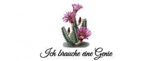 """Das Logo von """"Ich brauche eine Genie"""""""